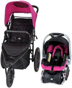 Baby Trend Stealth Jogger Travel System - Viola