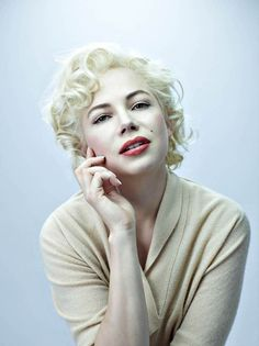 Michelle Williams by Michael Thompson Hated the movie but she was wonderful as Marilyn.