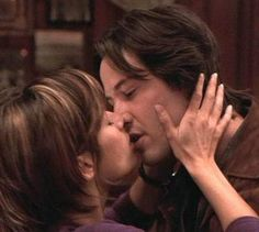 Keanu Reeves and Brooke Langton - The Replacements Keanu Reeves Speed, Keanu Reeves Young, Keanu Reeves Movies, Keanu Charles Reeves, Keanu Reeves Girlfriend, Brooke Langton, Keanu Reeves Sandra Bullock, Keano Reeves, Arch Motorcycle Company