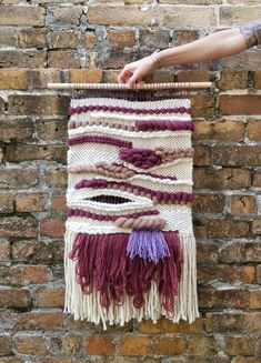 Amethyst Woven Wall Hanging