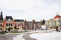 Unirii Square, Oradea, Romania