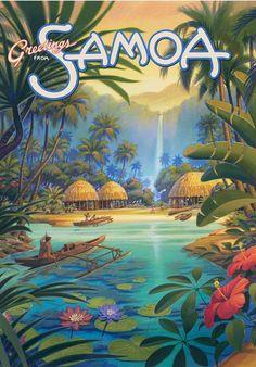 Greetings from Samoa