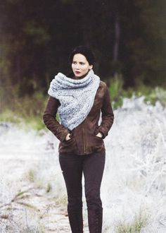 """The first thing I thought about Katniss's opening costume in """"Catching Fire:"""" I'd wear the shit out of that."""