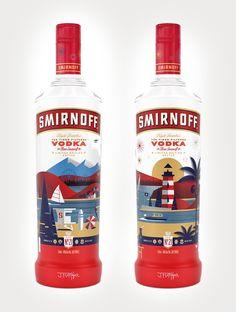 J_fletcher_smirnoff_limited_edition_bottle #packaging