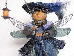 Светлячок (Firefly): Another fabulous doll from Lada Repina (Russia).