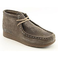@Overstock -for Cain http://www.overstock.com/Clothing-Shoes/Clarks-Originals-Boys-Wallabee-Brown-Boots/6757236/product.html?CID=214117 $79.99