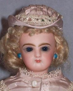 "12.5"" Jumeau French Fashion Doll – Original Wig! - Faraway Antique Shop 2"