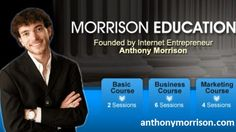 Young Internet Marketers & Anthony Morrison   If you are interested in becoming an internet marketer just like him, you should join his classes and course. He makes possibilities through the web for all the people who wants to be an entrepreneur. He starts with concentrating on email marketing. It is the quickest method of expanding one's business. Anthony Morrison inspires others by telling that it's not hard. All it takes is some focus and interest to learn