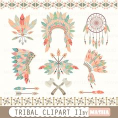#TRIBAL #CLIPART - http://luvly.co/items/4453/TRIBAL-CLIPART