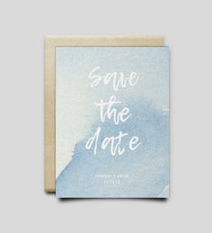 Items similar to Watercolor Save the Date Card on Etsy Wedding Reception Invitations, Save The Date Cards, Dating, Watercolor, Handmade Gifts, Etsy, Pen And Wash, Kid Craft Gifts, Quotes