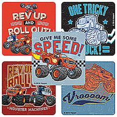 Blaze and the Monster Machine: Rev Up - from SmileMakers