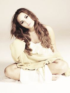 Demi Lavato. Give your heart a break is still my favorite song