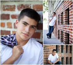 Color high school senior portraits at the University of Nevada, Reno by Karen Laine Photography.