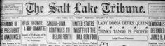 http://chroniclingamerica.loc.gov/ Digitaliserade gamla amerikanska tidningar