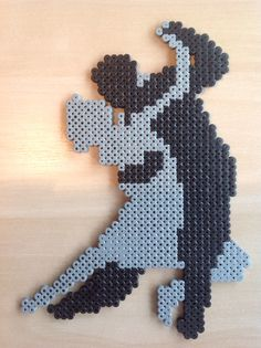 Loving couple hama beads by Majken Skjølstrup