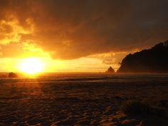 Whangamata Sunrise. Whangamata, New Zealand.