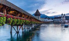 Lucerne: Covered Bridges and Towering Alpine Vistas in Switzerland