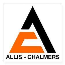 Allis Chalmer Sticker