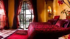 This gives me a great idea for the Moroccan theme I want for my bedroom
