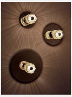 DCW Editions Applique In the sun Suspended Lighting, Sconce Lighting, Wall Lighting, Luminaire Design, Lamp Design, Light Design, Sun Lamp, Ceiling Lamp, Ceiling Lights
