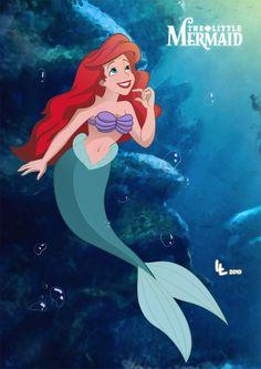 The Little Mermaid-Ariel, under the sea!
