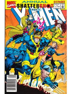 X-Men Annual Issue 1 Marvel Comics Back Issues - Very Fine