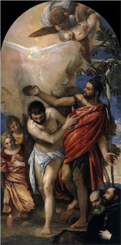 Baptism of Christ - Paolo Veronese