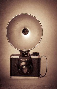 Old Ansco Ready Flash Camera by KellyGarseePhoto on Etsy, $30.00