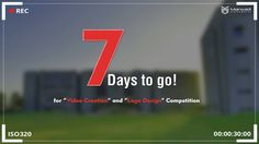 Creative thinking inspires Ideas, ideas inspire change!! Be the part of change. Because world is changing.  Marwadi University Logo and Video Design competition.  7 Days to go! Submit your logo design on: logo@marwadiuniversity.ac.in Submit your video on: video@marwadiuniversity.ac.in #LogoDesignCompetition #VideoDesignCompetition #MarwadiUniversity #Rajkot