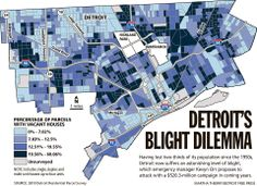 Graphic: Mapping Detroit's blight