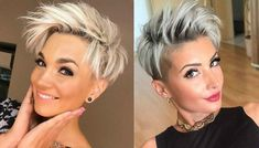 DO I NEED TO SAY MORE!! LOVE SHORT HAIR!! #PixieHairstylesFunky