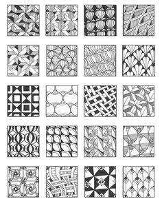 grid 9 | Flickr - Photo Sharing! – Emily Perkins Zentangle