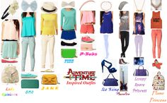 Adventure Time Inspired Outfits by ehank5490.deviantart.com on @deviantART