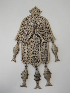 """North African hamsa amulet 
