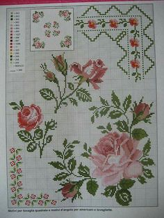 Neşe'nin gözdeleri Cross Stitch Heart, Cross Stitch Borders, Cross Stitch Flowers, Cross Stitch Designs, Cross Stitching, Cross Stitch Patterns, Indian Embroidery, Cutwork Embroidery, Cross Stitch Embroidery