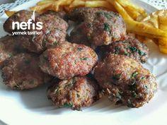 Puf Puf Kabaran Yumuşacık Köfte - Nefis Yemek Tarifleri Turkish Recipes, Ethnic Recipes, Food And Drink, Kitchen, Foods, Drinks, Recipes, Kitchens, Essen