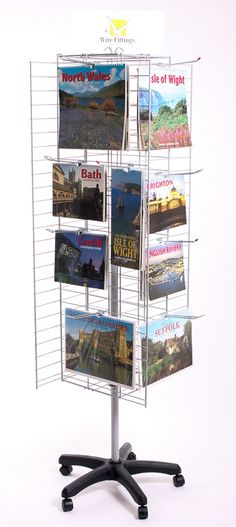 Exhibition Stand Vat : Keyring counter display stand with hooks ref kfi