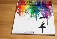 Cool Arts and Crafts Ideas for Teens, Kids and Even Adults | Cheap, Fun and Easy DIY Projects, Awesome Craft Tutorials for Teenagers | School, Home, Room Decor and Awesome Gift Ideas | crayon art | http://diyprojectsforteens.com/arts-and-crafts-ideas-for-teens