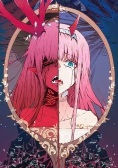 Click Anime merch is waiting for you ------- Darling In The Franxx Darling In The Franxx Anime, Darling In The Franxx Wallpaper, Darling In The Franxx zero two, Darling In The Franxx hiro, Darling In The Fr Kawaii Anime Girl, Anime Art Girl, Manga Art, Dark Anime, Chica Anime Manga, Otaku Anime, Image Manga, Estilo Anime, Zero Two