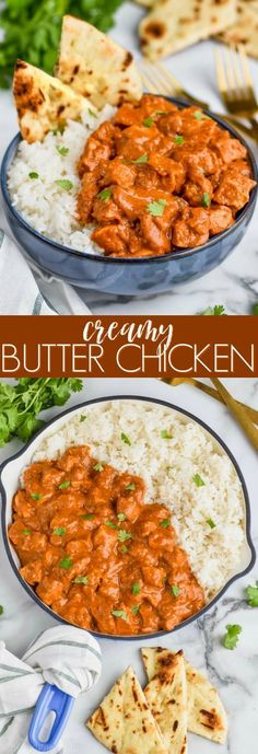 This Butter Chicken Recipe is so easy and so delicious. It is the perfect week. This Butter Chicken Recipe is so easy and so delicious. It is the perfect weeknight meal. Better than take out, you will love making this Indian Butter Chicken at home! Healthy Chicken Recipes, Cooking Recipes, Buttered Chicken Recipe, Easy Butter Chicken Recipe, Butter Recipe, Recipes With Chicken In It, Recipes With Cumin, Butter Chicken Recipe Crockpot, Mock Chicken Recipe
