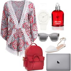 Untitled #13 by oksana-m on Polyvore featuring polyvore fashion style Best Society Vince Camuto Illesteva Cacharel