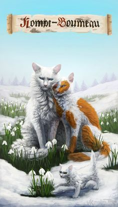 Spring - Warrior Cats by Cat-Patrisiya on DeviantArt