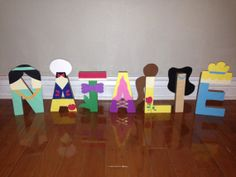 Disney Princess Letter Art by AMagicalCelebration on Etsy, $50.00