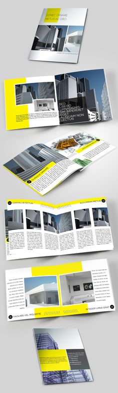 Construction Company #Brochure #editorial