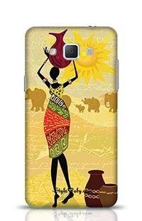 Tribal Lady Samsung Galaxy A5 Phone Case