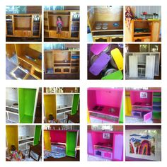 Kids kitchen from entertainment unit.