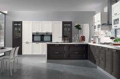 Cucine bicolore - Cucina classica in due colori | Cucina and Kitchens