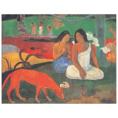GAUGUIN - Arearea 40x31 cm #artprints #interior #design #museo #museum #art #prints  Scopri Descrizione e Prezzo http://www.artopweb.com/categorie/museo/EC20232