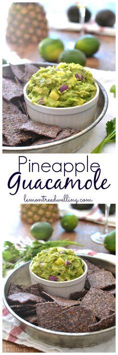 Pineapple Guacamole   Lemon Tree Dwelling
