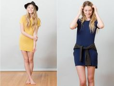 Great slow fashion dresses - also a good list of slow fashion designers